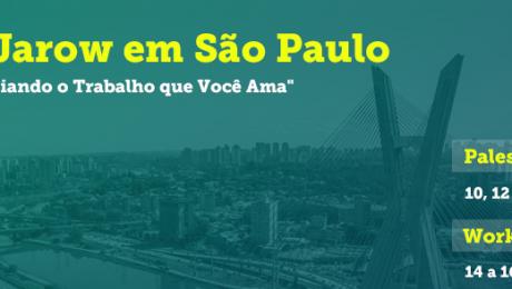 Rick Jarow – auto do livro Criando o Trabalho que Você AMA – no Brasil 2015