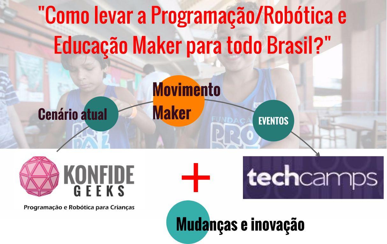 Palestra - Como levar a Educação Maker para o Brasil
