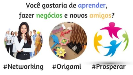 Networking e Origami na Pousada Zilah