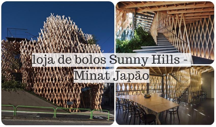 loja de bolos Sunny Hills - Minato